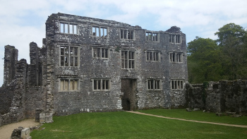 Berry Pomeroy Castle is one of Britain's most haunted buildings