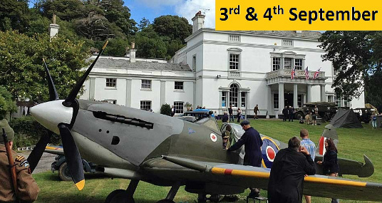 Lupton House 1940s weekend