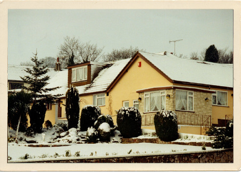 Picture 7: The unusual sight of snow in Brixham. February 1994.