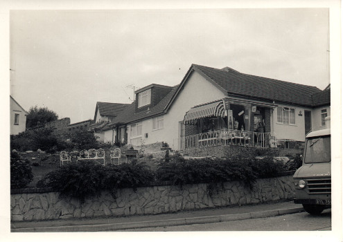 Churston Way Lodge soon after the extension was completed