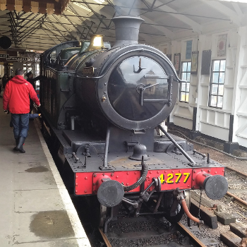 Take a ride on Dartmouth Steam Railway